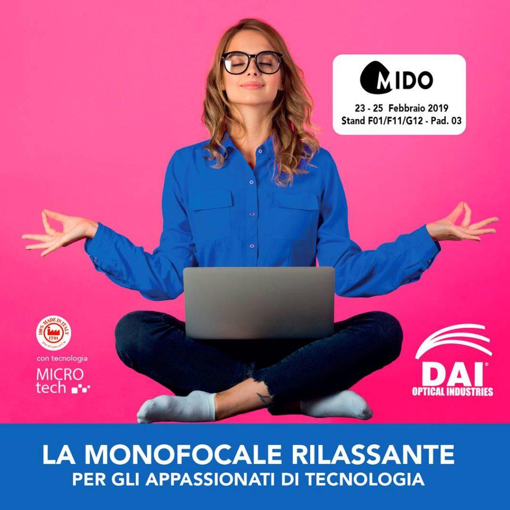 YOGA TECH: la monofocale rilassante per gli appassionati di tecnologia in anteprima a Mido!