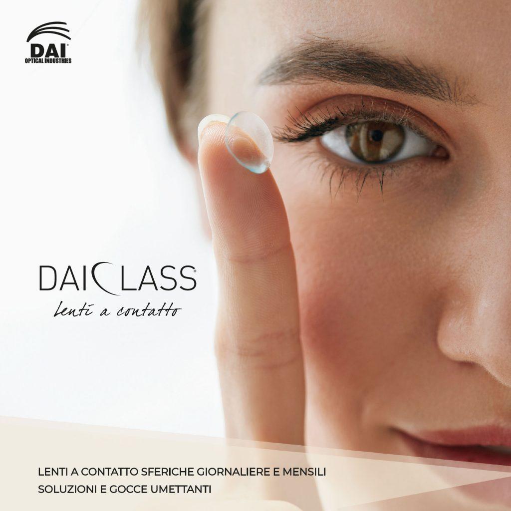 DAI Optical Industries: novità in vista. Lenti a contatto e soluzioni firmate DAI Class